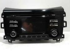 NISSAN NAVARA 2016 STEREO HEAD UNIT NP300, RADIO/CD PLAYER, 05/15- P/N 28185 4KE