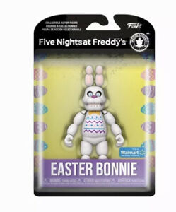 "Funko Five Nights at Freddy's FNAF Easter Bonnie 5"" Figure Walmart Exclusive NEW"