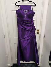 Tiffanys linda Beaded Long Evening Dress ballgown Size 22 BNWT