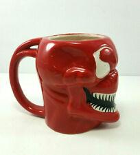 Marvel Comics Venom Carnage Red Molded Head Ceramic Coffee Cup Mug 16 oz