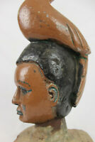 Afrikanische Vertikal-Maske Sierra Leone sehr seltene Holzmaske aus Afrika