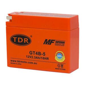 TDRMOTO VT4B-4 Dry Cell Battery Quad ATV Motorbike YT4B-BS GT4B5 MTB4BB MG4B-BS