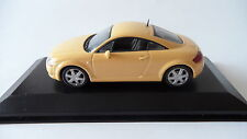 AUDI TT COUPE 1998 LIGHT YELLOW MINICHAMPS 1/43 NEW