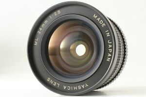 [RARE! MINT] Yashica ML 24mm f/2.8 Wide Angle Lens For C/Y Mount From Japan