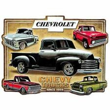 CHEVROLET TRUCK CHEVY HOT ROD Embossed Distressed Vintage Style Metal Signs 1957