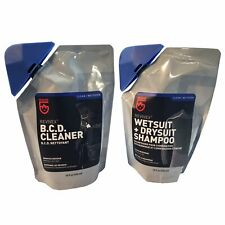 Wetsuit Drysuit Shampoo and Bc Life Bcd Cleaner Conditioner