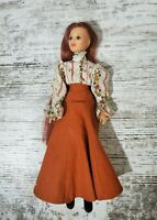 Vintage Ideal JODY An Old Fashioned Girl Doll w/original clothes 1975 No Hat