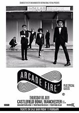 "ARCADE FIRE ""DOLLAR REGION"" 2017 MANCHESTER, UK CONCERT TOUR POSTER - Indie Rock"