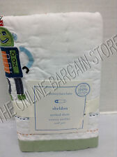 Pottery Barn Kids Crib Baby Toddler Sheldon Robot Quilted Bed Pillow Sham 12x16