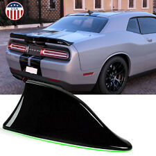 Black Car Shark Fin Roof Antenna Radio FM/AM Aerial for Dodge Charger Challenger