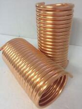 Spirale Kupferrohr 12x1mm  für OFENROHR 120mm 10m mit Innendurchmesser ca.125mm