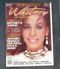 A Tribute to WHITNEY HOUSTON  Word Up! Presents No. 1 November 1987
