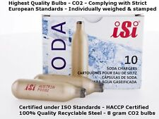 30 SODA CHARGERS BULBS ISI 10 PACK X 3 SYPHON SPARKLING - SYDNEY