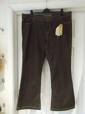 TRUE 2 U Brown Bootcut Jeans NWT Denim Classic Casual Wear UK Size 20
