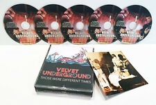 THE VELVET UNDERGROUND THOSE WERE DIFFERENT TIMES 5 CD