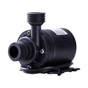 12V/24V DC Aquarium Submersible Fountain Ponds Brushless Water Pump 800L/H 5M AU