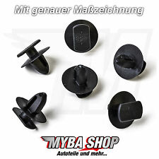 20x Clips for Door Panel for Seat Ibiza, Skoda Octavia, VW Golf 3b0837732