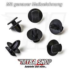 10x Clips für Türverkleidung für Seat Ibiza, Skoda Octavia, VW Golf 3B0837732