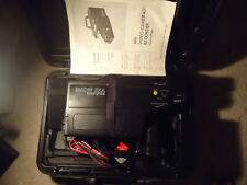 Sears Solid State VHS Home Movie Camera Camcorder Case Car Charger Instructions