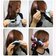 12Pcs Hurtless Sponge Foam Cushion Hair Styling Rollers Curlers Twist Tool New