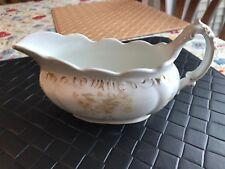 Vintage Gravy Boat Henry Alcock and Co Semi Porcelain
