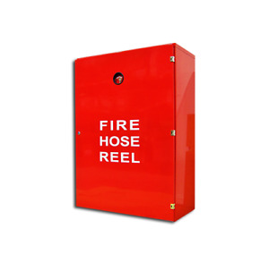 Fire Hose Reel Cabinet With Lock And Back