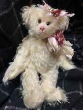 "1995 Joan Woessner ""Spring"" LE 93/100 artist teddy bear mohair Bear Elegance"