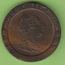 NSW-Lipsia Gran Bretagna Twopence 1797 Cartwheel buon VZ carina
