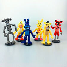 6pcs Game Five Nights at Freddy's FNAF Collectible Action Figures Doll Kids Toy