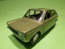 POLISTIL S27 FIAT 127 - 1:25 LIGHT GREEN METALLIC - RARE SELTEN - NEAR MINT