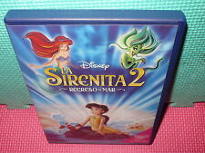 LA SIRENITA 2 - DISNEY - REGRESO AL MAR -  dvd