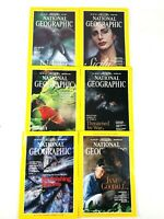 National Geographic Magazine 1/2 YEAR  July-December 1995