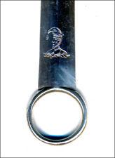Antique Georgian silver MEAT SKEWER W.Eley, Fearn & Chawner 1810 London 13 inch
