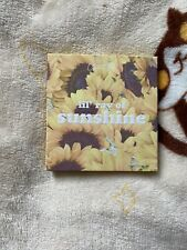 BN Colourpop lil ray of sunshine sunflower collection eyeshadow palette UKseller