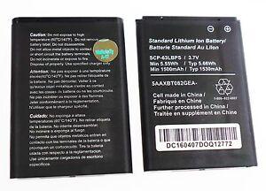 New Li-Ion Battery SCP-63LBPS Kyocera DuraXV LTE E4610 E4520 E4281 E4710 1530mAh