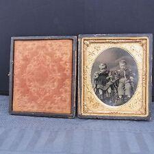 DAGUERREOTYPE Kinder-Portrait ca. um 1840 Foto