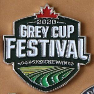Large 2020 Regina 108th Grey Cup Festival Saskatchewan Roughriders CFL pin