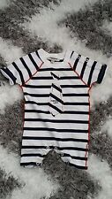 Jean Paul Gaultier Boy Girl Stripe Baby 3 Months Cotton Playsuit
