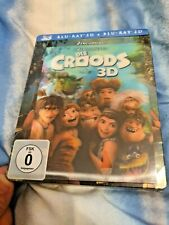 The CROODS 3D+2D Blu-Ray Media Market Lenticular Exclusive Limited Steelbook New
