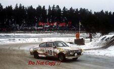 John Haugland & Petter Vegel Skoda 130 RS Rally sueco 1980 fotografía 1