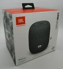 JBL Harman 360-Degree Immersive Sound Smart Speaker - Link Music (Gray, Google)