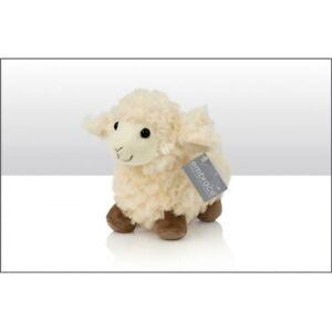 1 X PLUSH SHEEP SOFT TOY COLLECTION TEDDY STANDING BY EMBRACE 23CM 69395