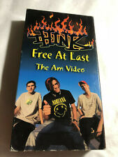 Think, Free At Last The Am Video,Skateboarding, Danny Fuenzalida, Ean Payne, Vhs