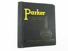 Vintage Parker Appliance Master Catalog 3 Ring Binder Only Barrett Brx 5609