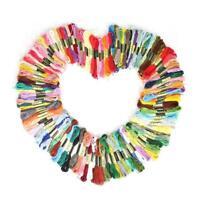 Multicolor 8Pc Similar DMC Thread Cross Stitch Embroidery Sewing Thread Q6H7