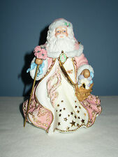 The Danbury Mint Victorian Santa Musical Figurine
