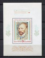 33769) BULGARIA 1991 MNH** Vincent van Gogh S/S