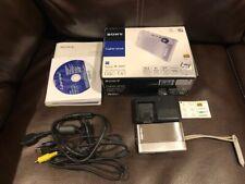 Sony Cyber-shot DSC-TX1 10.2MP Digital Camera - Silver - Free Shipping