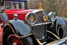1 Mercedes Vintage Concept Antique 43 Exotic Classic Car 18 Carousel Red SI 12 E