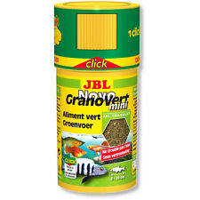 JBL NovoGranoVert mini Click 100ml Novo Grano Vert Fish Food Granules